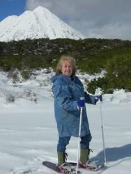 Louise snowshoeing-2-2007